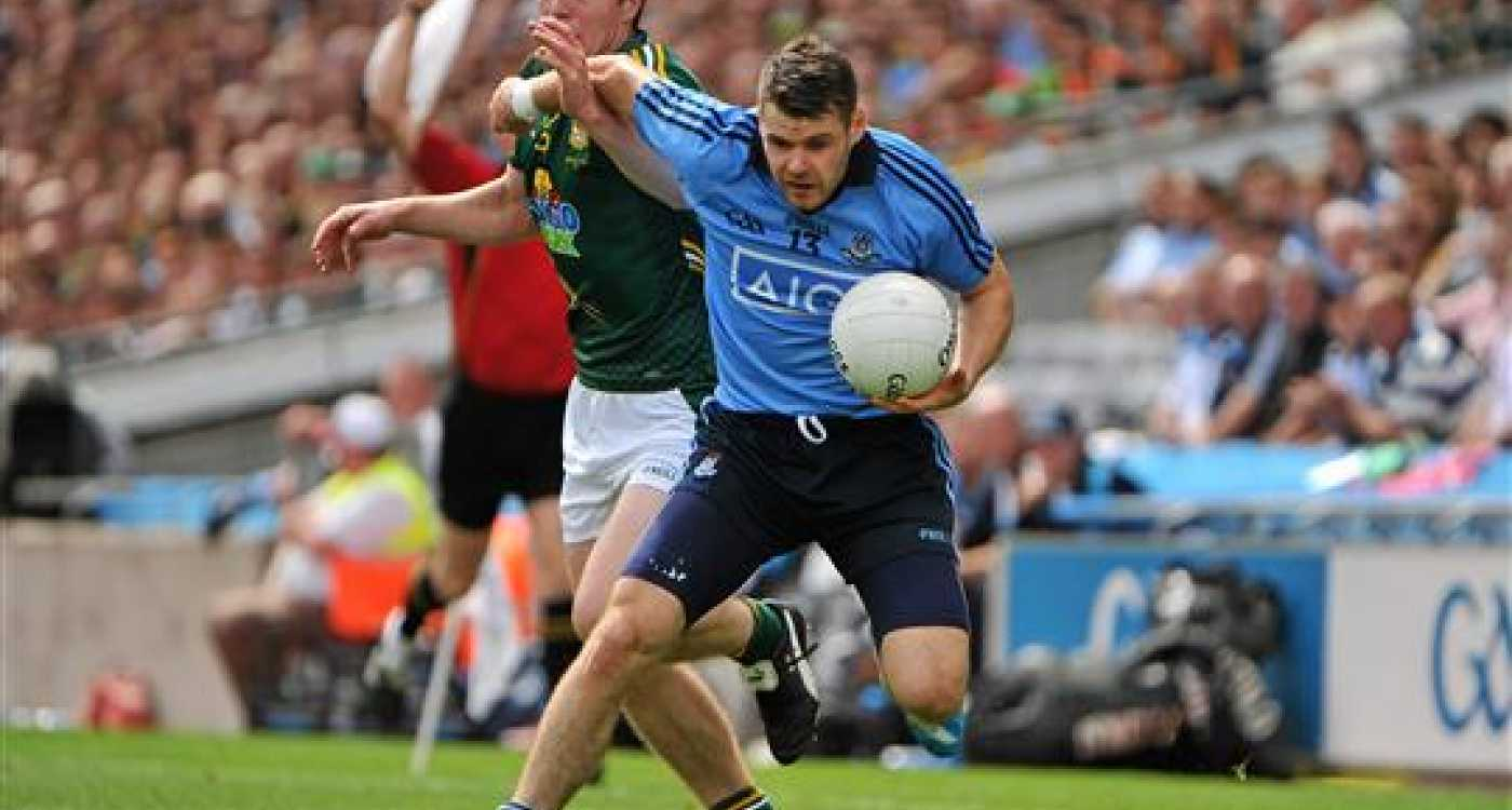 Senior footballers in quarter-final action on Saturday, August 9