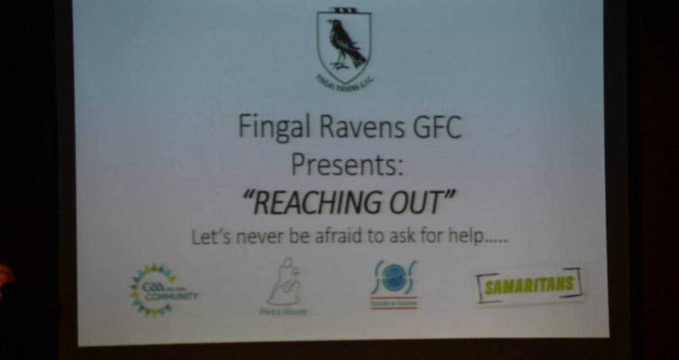 Fingal Ravens - Successful 'Reaching Out' Event