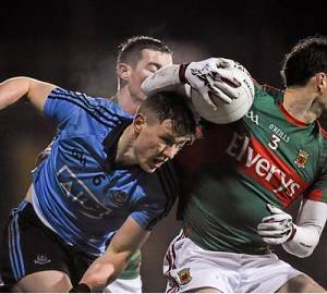Senior footballers battle way past Mayo