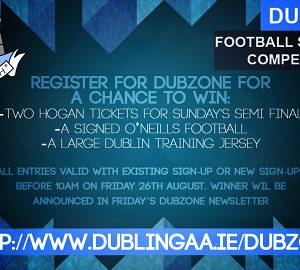 Dubzone Sign-Up Competition