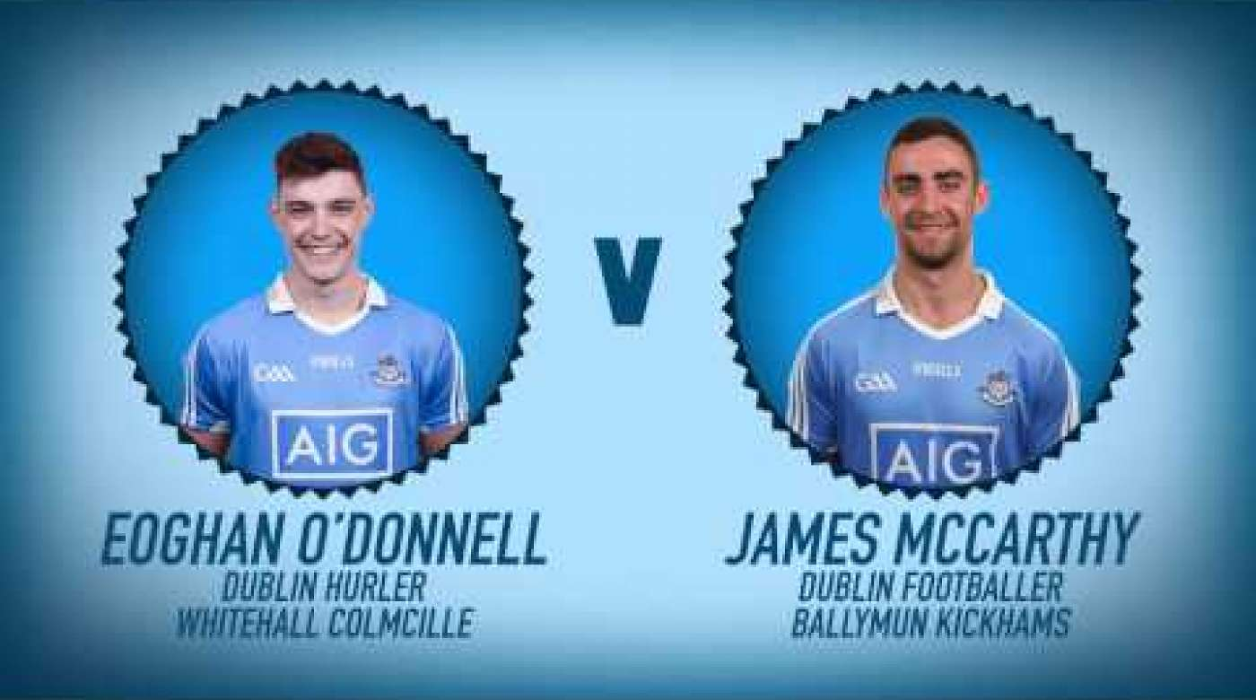 The Dubs play Categories - Eoghan O'Donnell v James McCarthy
