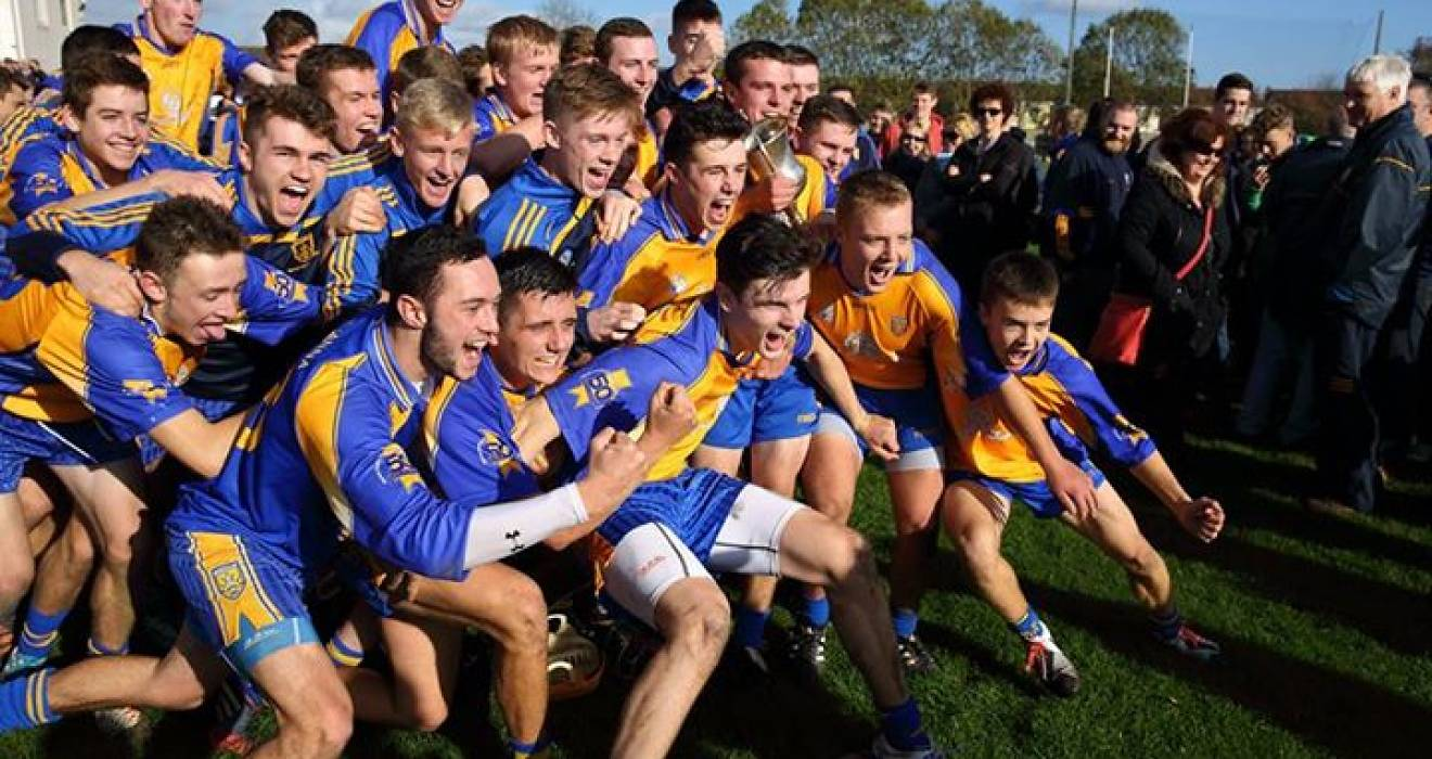 Minor glory for superb Na Fianna
