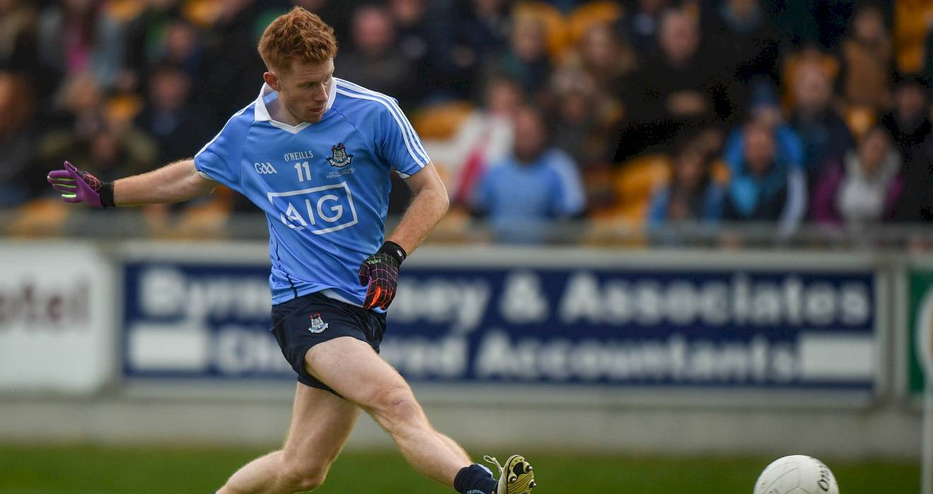 Aaron Byrne voted EirGrid U21 Footballer of the Year