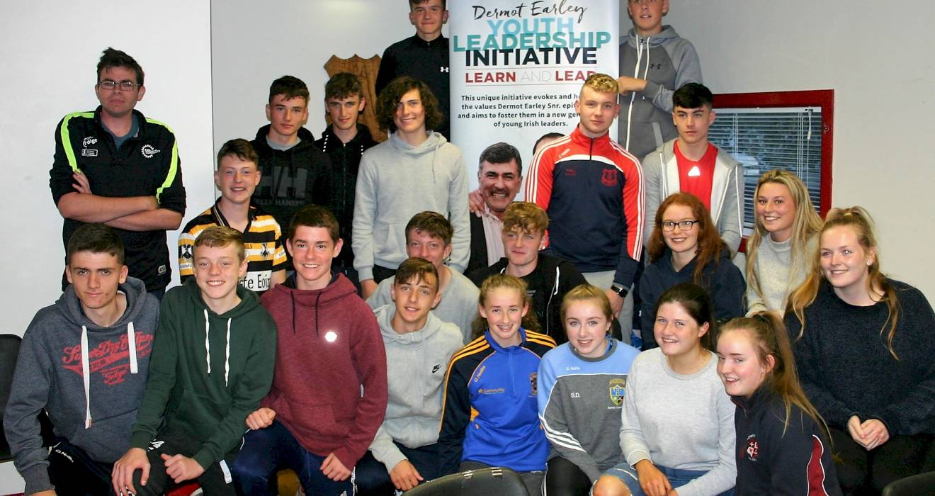 Dermot Early Youth Leadership Initiative Launched in Cuala