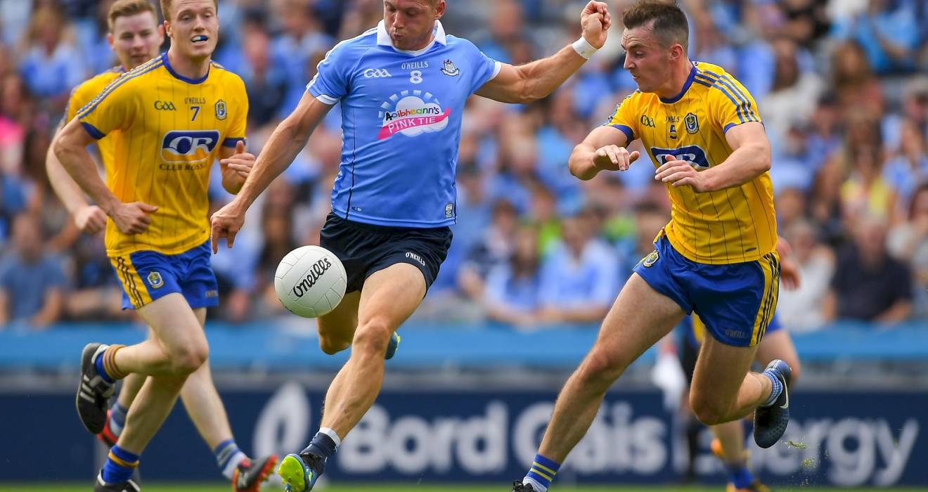 Senior footballers cruise to victory over Roscommon