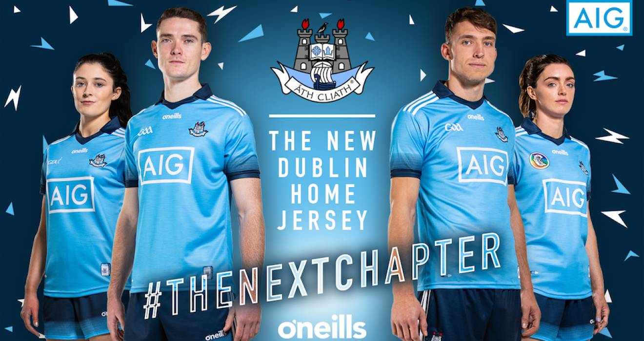 The New Dublin Home Jersey