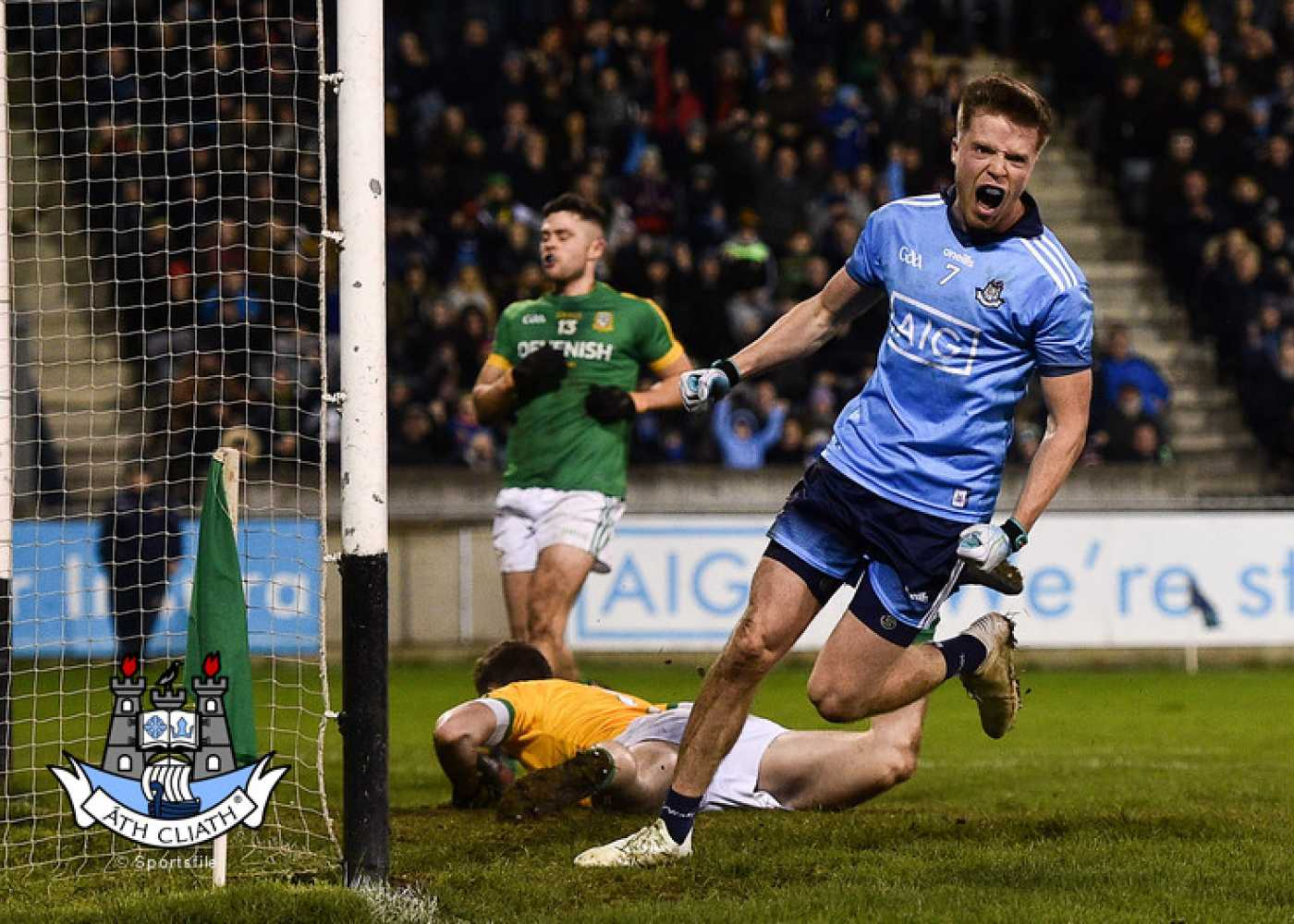 Senior footballers are spot on in victory over Meath