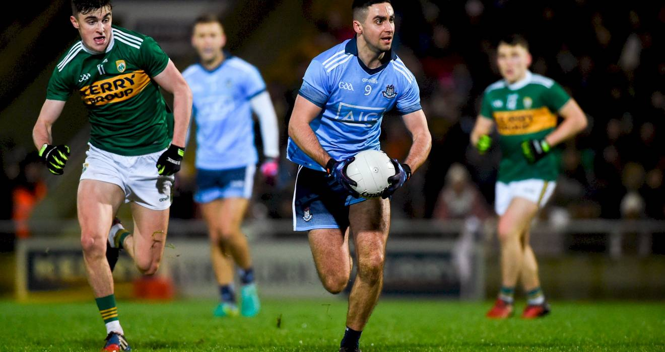 Senior footballers fall to Kerry in great battle