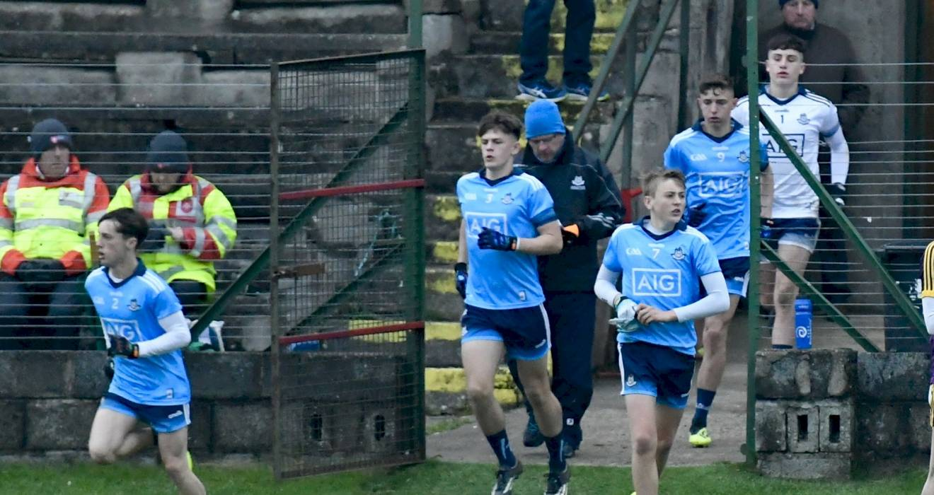 Dublin Minor Team Named For Leinster Clash With Offaly