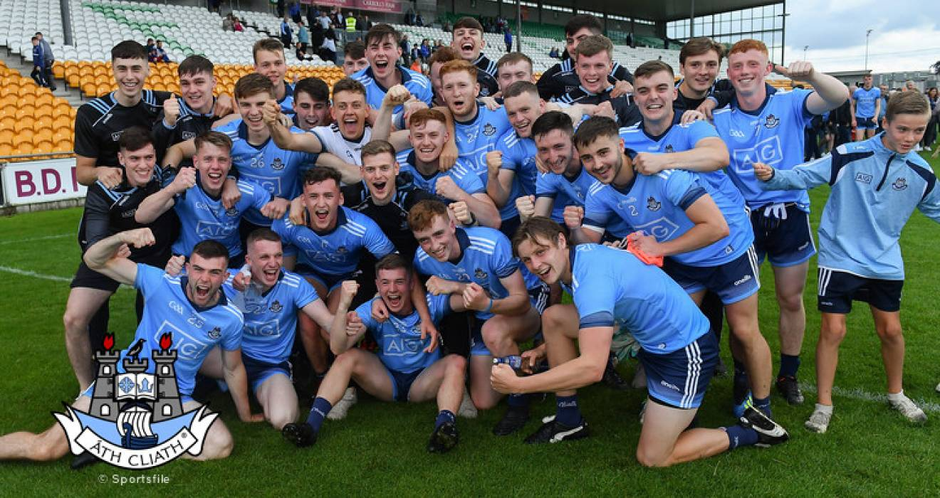 U20 footballers crowned Leinster champions