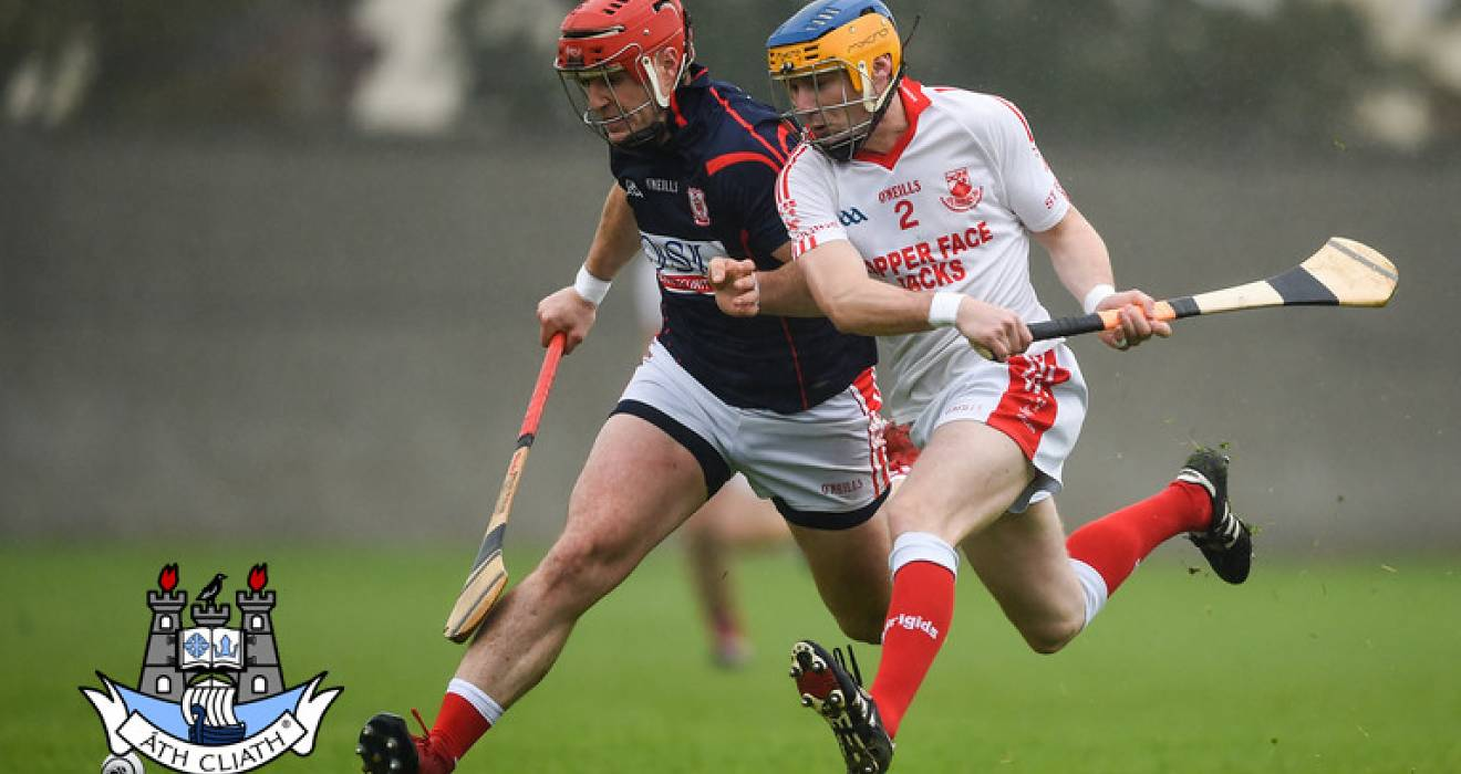 St Brigid's stand between Cuala and Dublin AHL/SHC 'A' double