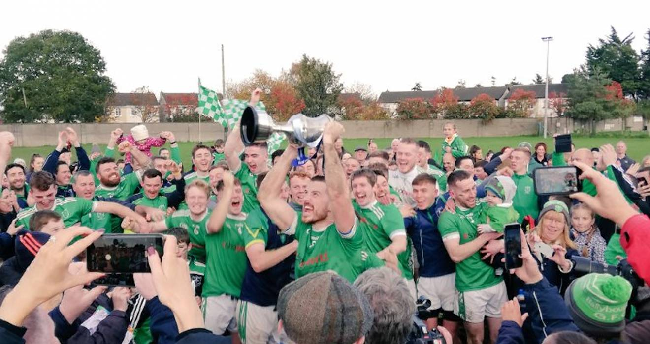 Ballyboughal win IFC club; Crokes lift IFC county title