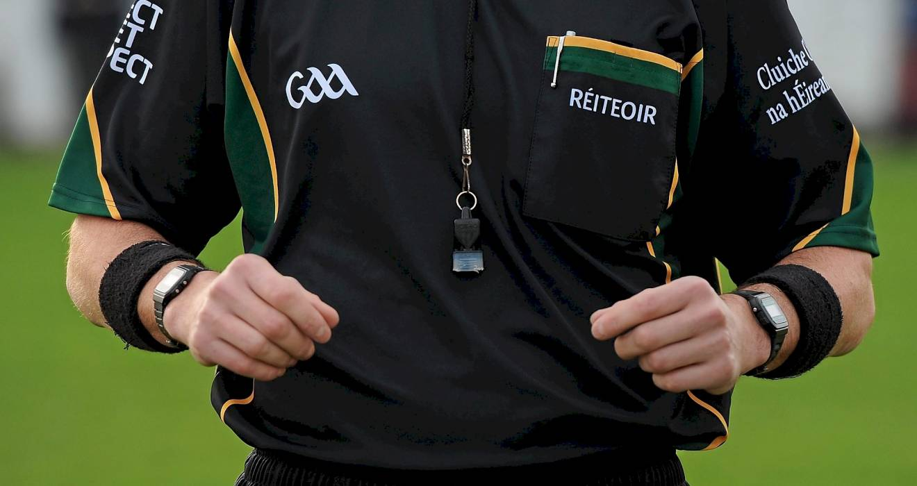 ​Coiste na Réiteoirí To Hold New Adult Referees Course