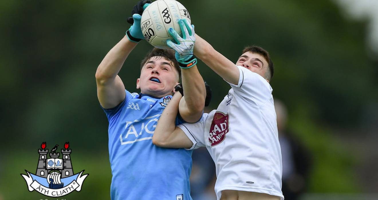 U20 footballers draw with Kildare in John Kerins Cup