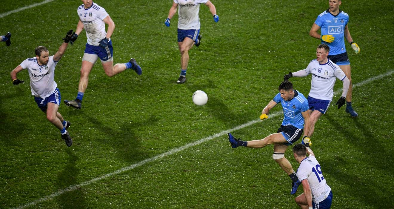 Byrne kicks late, late equaliser as senior footballers stage incredible comeback