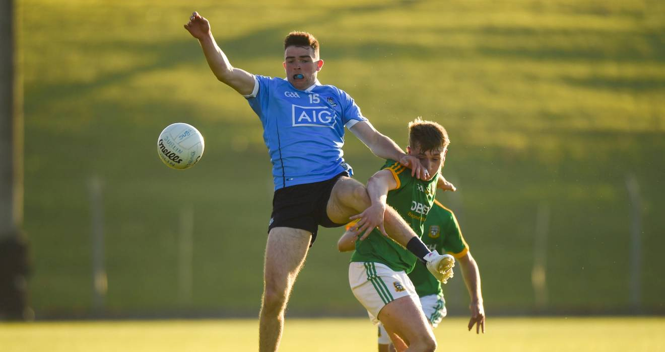 U20 footballers unchanged for Leinster semi-final against Meath