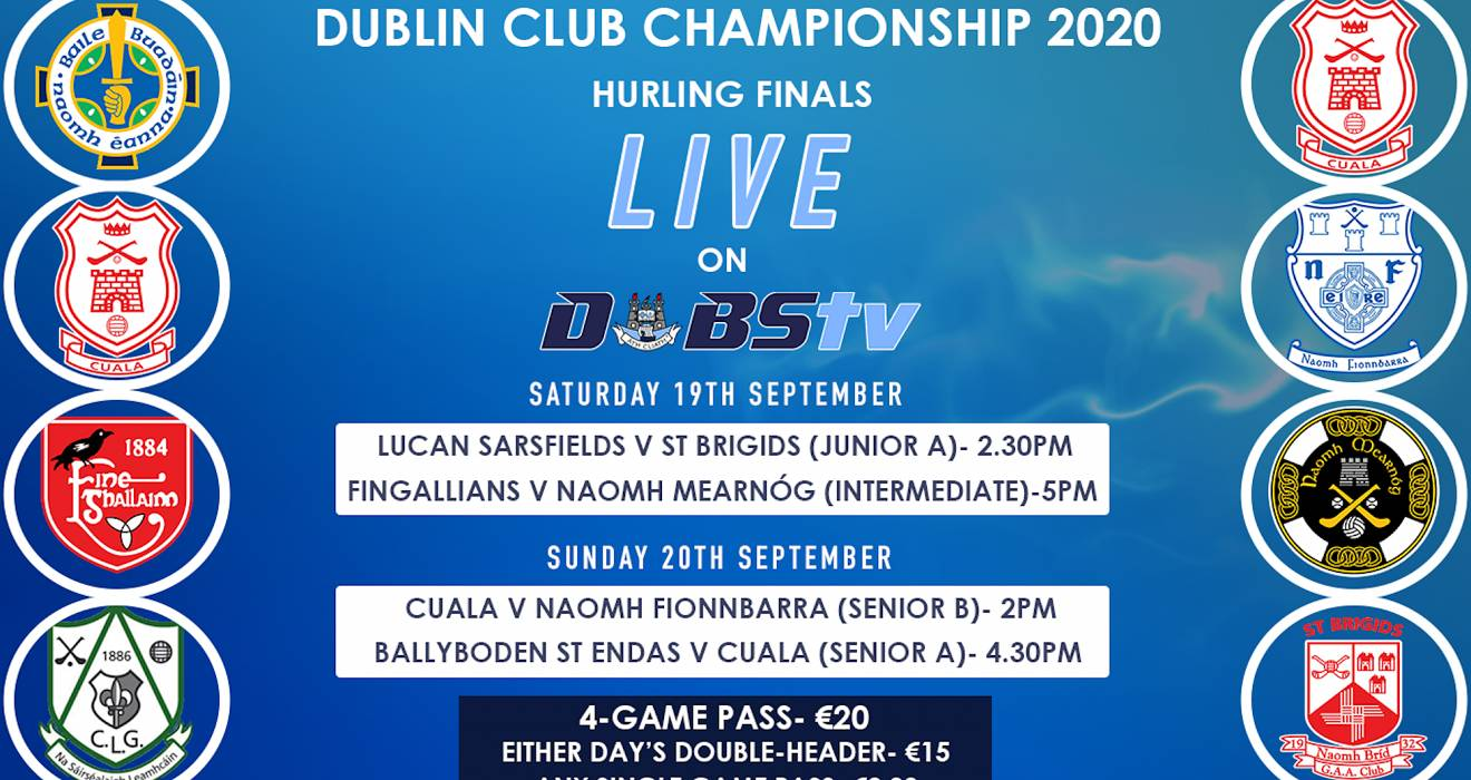 Dubs TV Live Streams- Dublin Hurling Finals