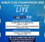 DubsTV Live Streams- Dublin Football Finals