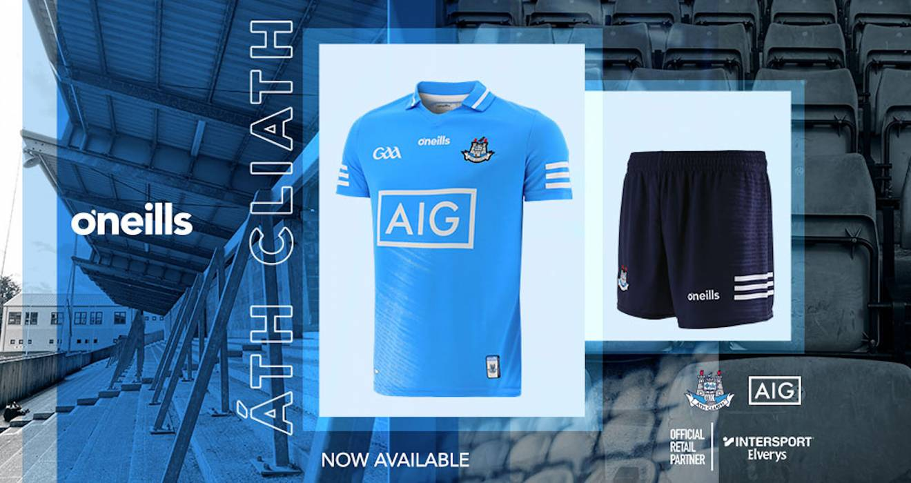 New Dublin GAA Jersey Unveiled!
