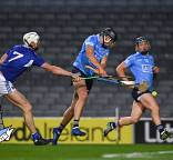 Burke points way as senior hurlers overcome Laois
