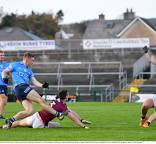 Senior footballers conclude league with victory over Galway