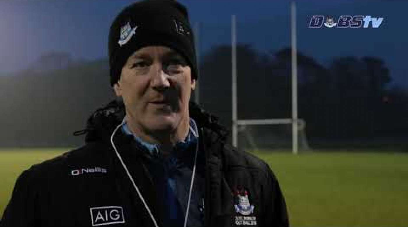 Dublin Minor Footballers Ready Themselves For Leinster MFC