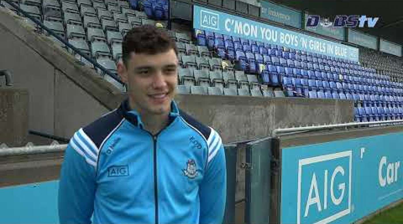 Eoghan O'Donnell chats to DubsTV at AIG's launch of Dublin's 2020 Championship season