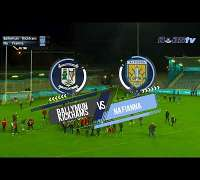 Ballymun v Na Fianna in the Dublin Senior Football Championship 2019