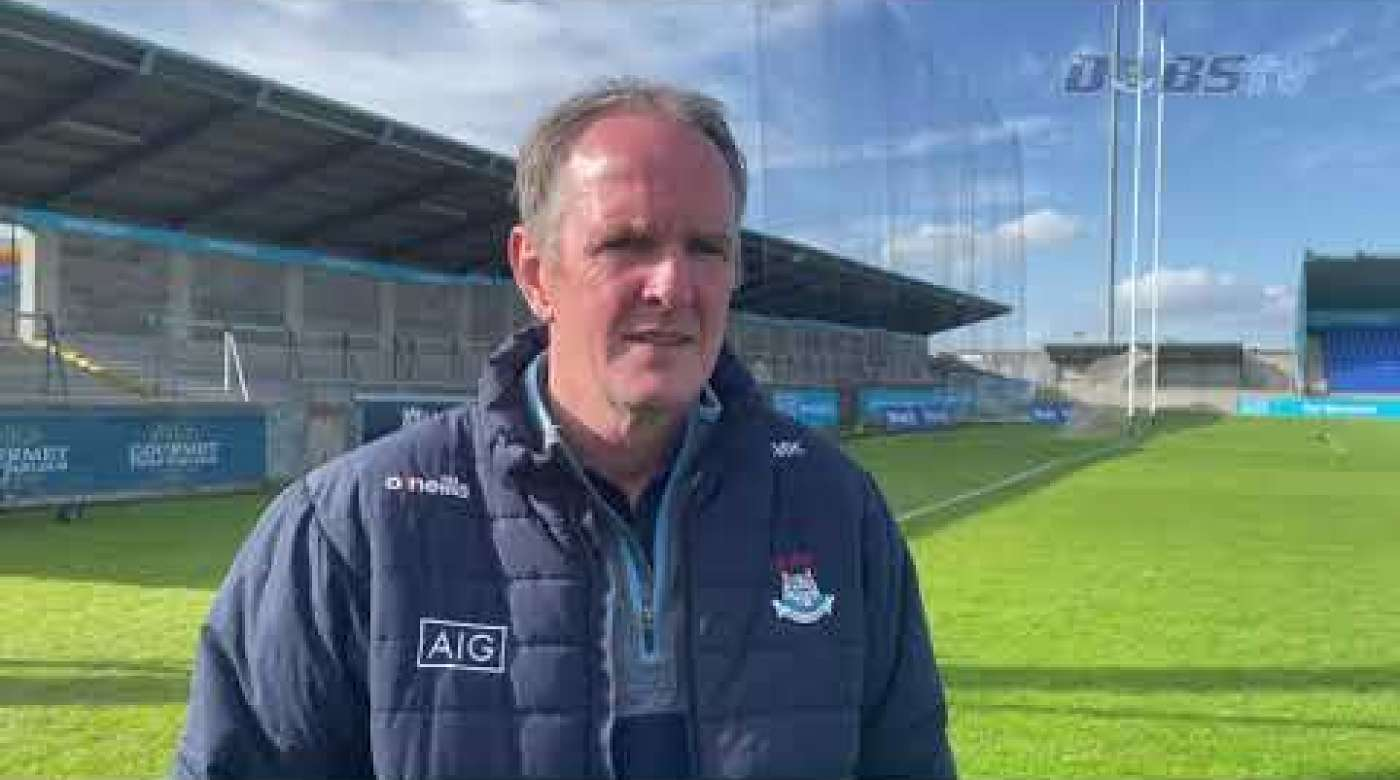Mattie Kenny chats to DubsTV following League defeat to Kilkenny